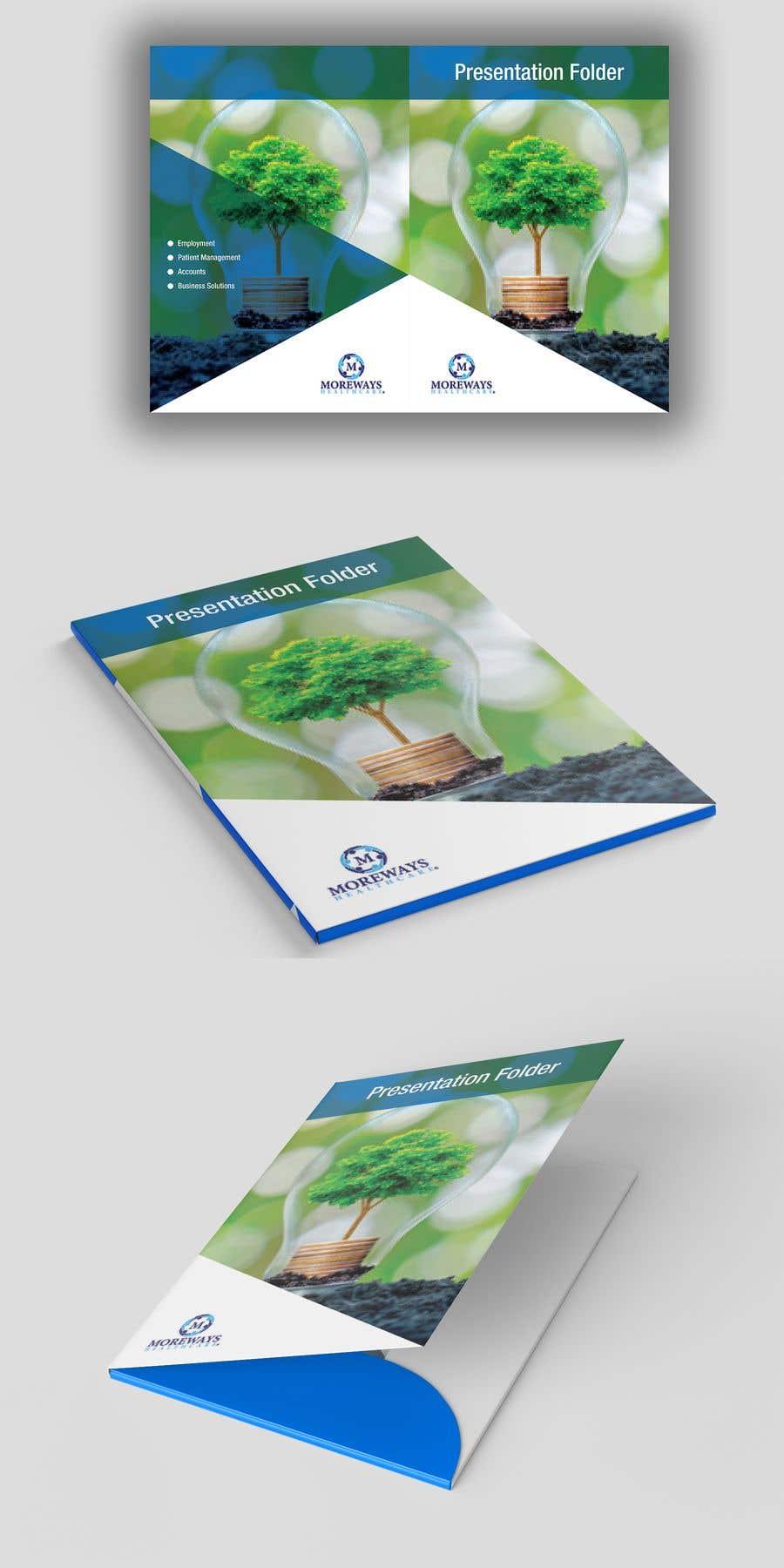 Contest Entry #                                        1                                      for                                         Design an A4 presentation folder