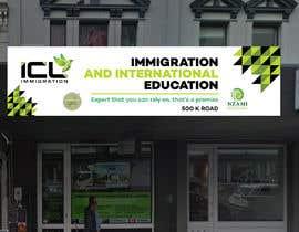 Nro 140 kilpailuun Design a Signboard for our Immigration Business käyttäjältä eddesignswork