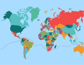 #21 for Animated Map of Sailing boat Around the World af creatorKov
