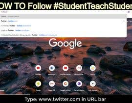 #1 cho Create a 30-second Twitter Video on HOW TO Follow #StudentTeachStudent bởi Rafiul77