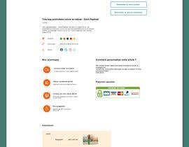 #56 untuk Create a new product page template for my E-commerce website oleh AjijulAbid