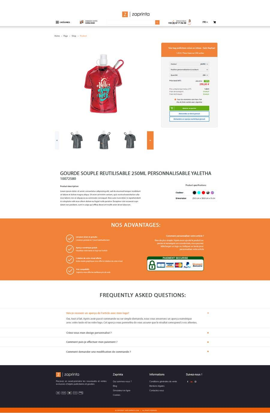 Penyertaan Peraduan #                                        31                                      untuk                                         Create a new product page template for my E-commerce website