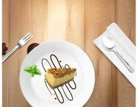 #23 for I need you to redesign a new background for the attached cheesecake. The new design shall be suitable for a restaurant advertisement post in Instagram af rumisultana28