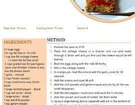 #21 for Build my ecookbook into an attractive pdf af parristianna