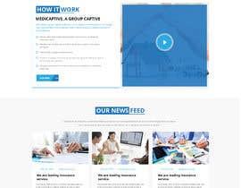 Nro 56 kilpailuun Website Design käyttäjältä Shouryac