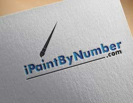 Nro 6 kilpailuun iPaintByNumber.com Logo käyttäjältä mstnazninakhtar