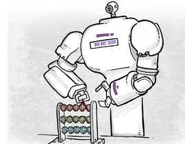#21 for Design a Cartoon: Robotic Hand and Abacus by milmauro