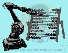 #13 for Design a Cartoon: Robotic Hand and Abacus by agxdesigns