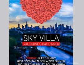 #38 for Invitation flyer for a dinner af desmondlow1801