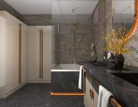 Nro 15 kilpailuun I have a Master Bathroom need to set a nice plan käyttäjältä galacticafb