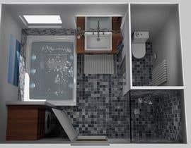 Nro 25 kilpailuun I have a Master Bathroom need to set a nice plan käyttäjältä RubenFoerster
