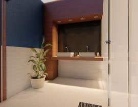 Nro 21 kilpailuun I have a Master Bathroom need to set a nice plan käyttäjältä SaraAlSayyad