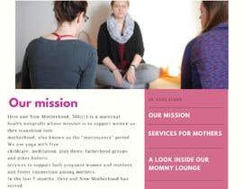 Nro 5 kilpailuun Graphic design and photo editing for a maternal health nonprofit sponsorship letter käyttäjältä rwiseman96