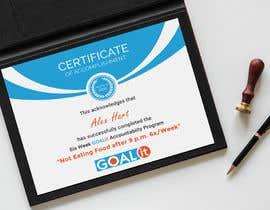 #23 cho AWARD Certificate of accomplishment bởi Heartbd5