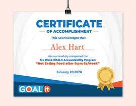 #2 cho AWARD Certificate of accomplishment bởi mastrolai
