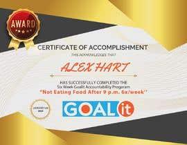 #9 cho AWARD Certificate of accomplishment bởi Amulyabansal8