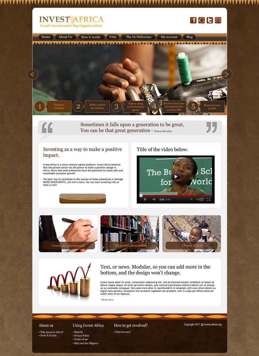 Bài tham dự cuộc thi #                                        7                                      cho                                         Graphic Design for Invest Africa