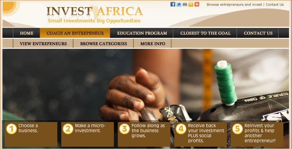 Bài tham dự cuộc thi #                                        8                                      cho                                         Graphic Design for Invest Africa