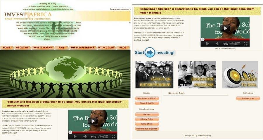 Bài tham dự cuộc thi #                                        6                                      cho                                         Graphic Design for Invest Africa