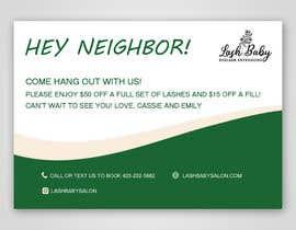 #13 cho Small Marketing Postcard bởi sadiasultana282