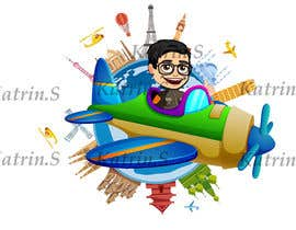 #7 cho Hello! I'm looking for a cartoon for my YouTube channel and website. I'm looking for my head to be put on a airplane maybe flying around the planet going right not left ? Please make sure I am able to use for this for commercial use. That be great! bởi katrinspasova