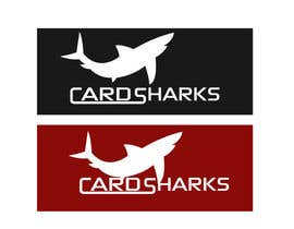 #99 untuk Logo Design for our new sports card shop!  CARD SHARKS! oleh Don67