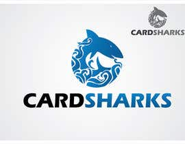 nº 104 pour Logo Design for our new sports card shop!  CARD SHARKS! par Dindajaja06