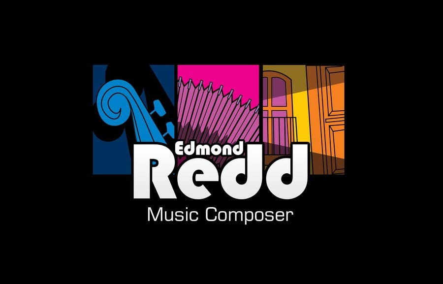 #6 for Logo Design for Edmond Redd- Music Composer by MagicProductions