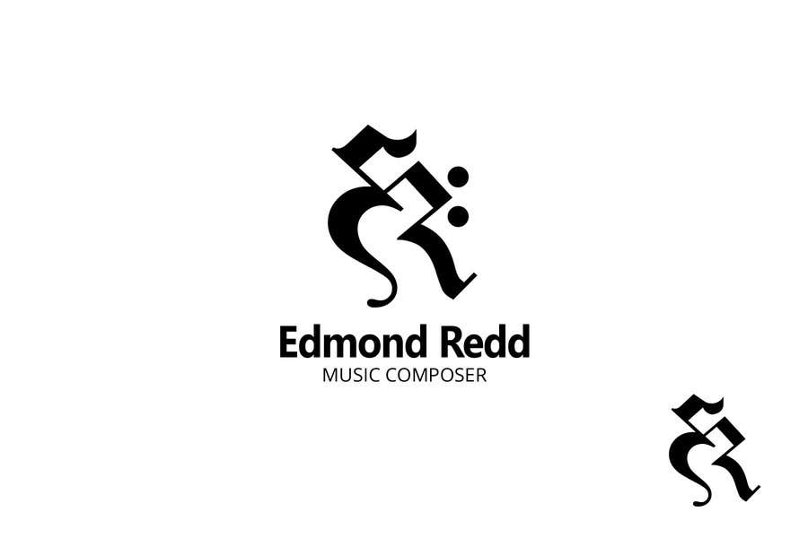 #34 for Logo Design for Edmond Redd- Music Composer by zetabyte