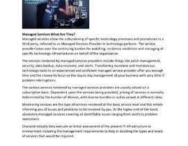 #12 para Need write up for Managed Services por emense