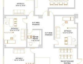 ssquaredesign tarafından Design and Floor Plan for Clinic  - 22/01/2020 13:13 EST için no 10