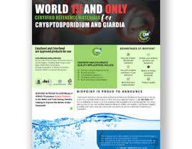 #74 for Make me a information flyer regarding our new Certified Reference Material by amanjahir10960