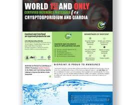 amanjahir10960 tarafından Make me a information flyer regarding our new Certified Reference Material için no 74
