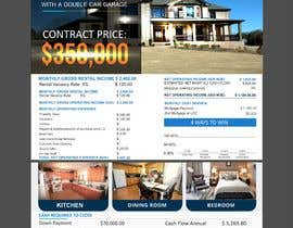 #45 for Real Estate Investing Pro-Forma Flyer by kashmirmzd60