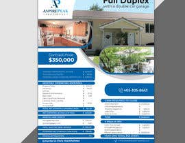 #55 for Real Estate Investing Pro-Forma Flyer by mdralmaruf