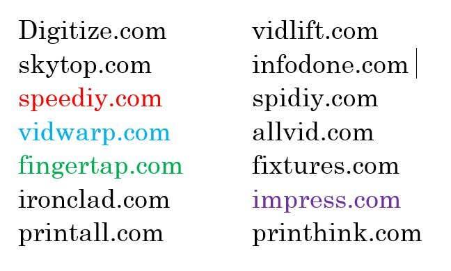 Inscrição nº                                         303                                      do Concurso para                                         Suggest me Domain name for Website Available in .com