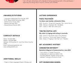 #34 untuk Resume Design oleh Venusat37