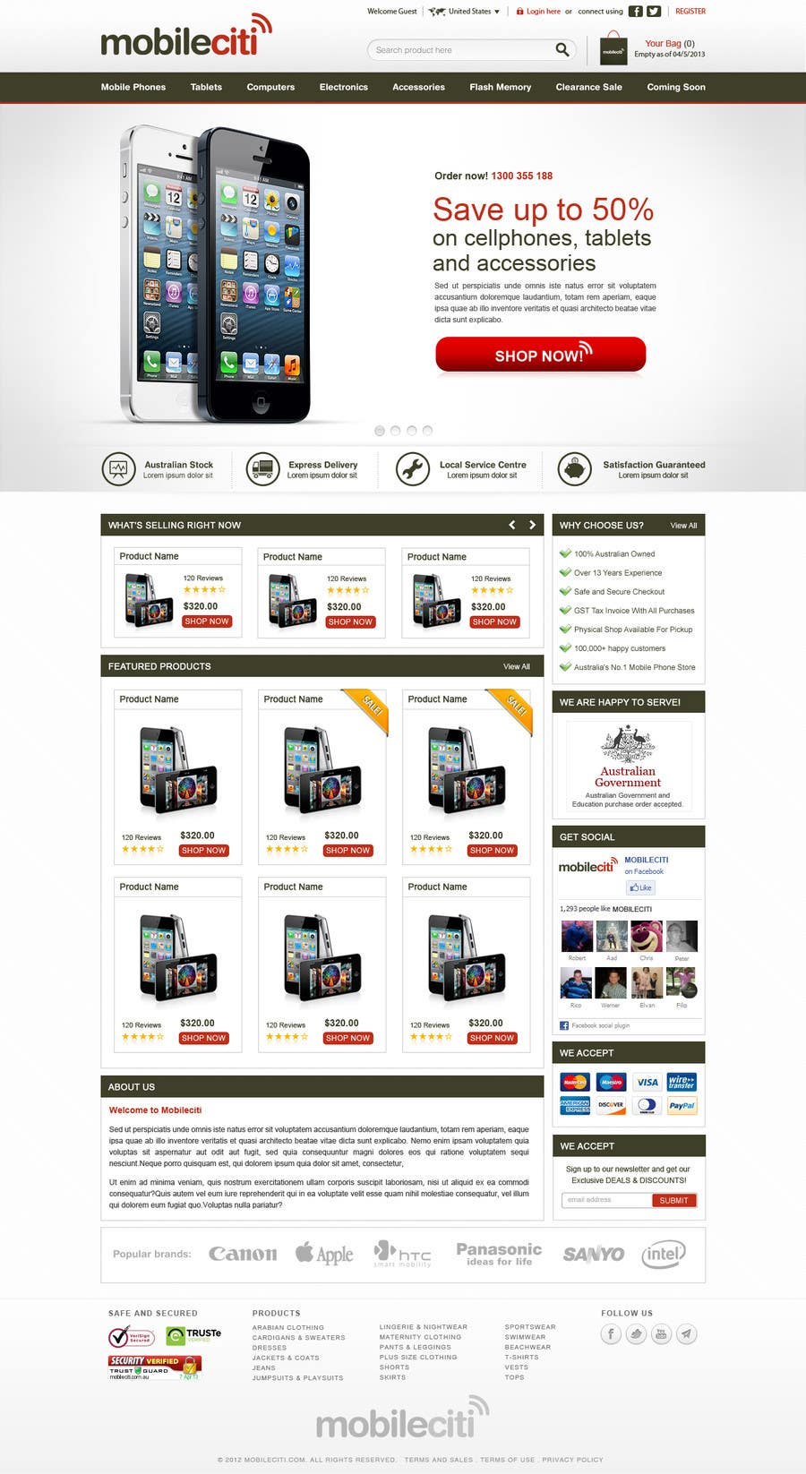 #15 for Website Design for Magento by herick05