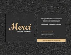 #66 para Create/Design a Thank You card for customers purchase por Designopinion