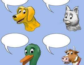 AleksandarVamp tarafından Illustration of four animals için no 62