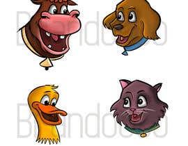 peabodybrando tarafından Illustration of four animals için no 60