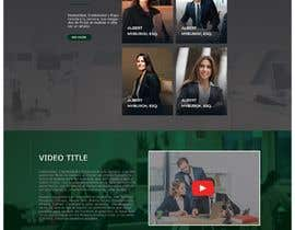 """#7 untuk Professional website for a law firm. Relevant, clean, dark green and grey themes. Technology, """"shelter in the storm"""" themes. Need at least 10 pages. oleh MdFaisalS"""