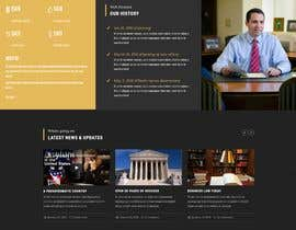 """#37 untuk Professional website for a law firm. Relevant, clean, dark green and grey themes. Technology, """"shelter in the storm"""" themes. Need at least 10 pages. oleh moniruzzaman97m"""