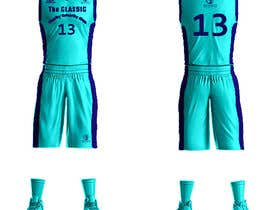 #16 для Design a basketball team uniform от alaasaleh6