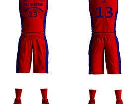 #17 для Design a basketball team uniform от alaasaleh6