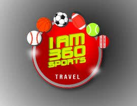 #8 para IAM360SPORTS TRAVEL 3D logo redesign por himubhaii