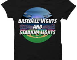 #32 untuk baseball tshirt design contest oleh dnerox