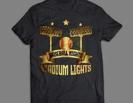 #22 untuk baseball tshirt design contest oleh himubhaii