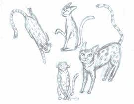 #11 for Digital Artist for Multi-Book Deal - must be able to draw realistic, elegant cats (& other animals) af vectorproart
