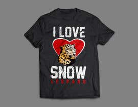 #63 untuk Graphic Design for Endangered Species - Snow Leopard oleh rayhanb551